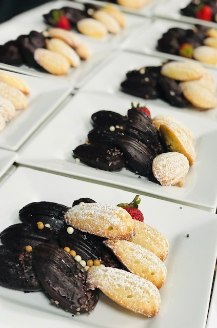 Lemon & Chocolate Madeleines, Captured By Executive Chef Andrea Uzarowski
